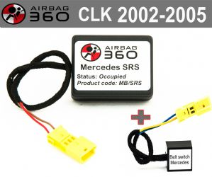 Mercedes CLK Class Front  Passenger Seat mat Occupancy Sensor, occupied recognition sensor  emulator / bypass